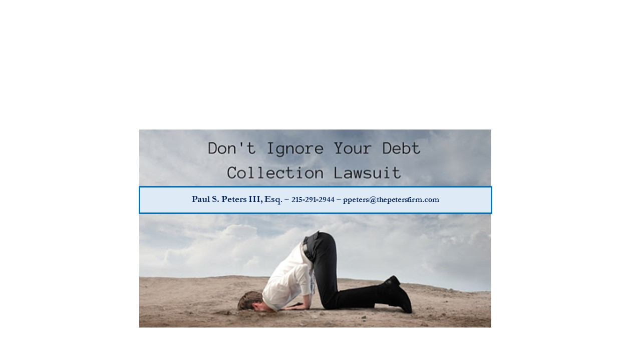 Being Sued for Credit Card Debt?