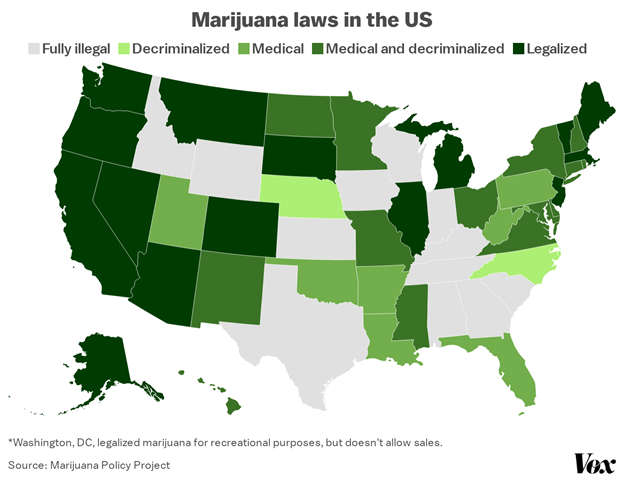Marijuana Laws After the 2020 Election